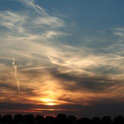 Zonsondergang in Capelle aan den IJssel