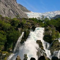 Jostendalsbreen noorwegen.