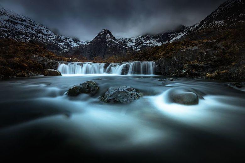 fairy pool - De Fairy Pools in het prachtige Schotland.