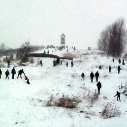 Wintersport in Groningen