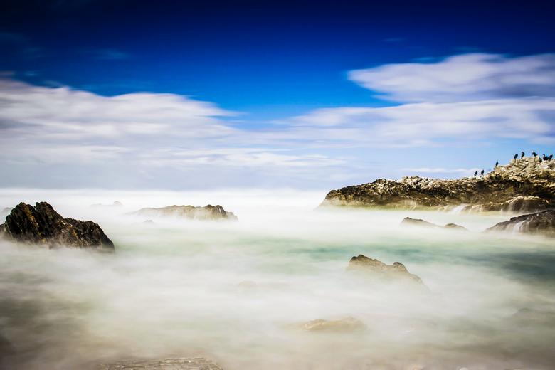 Solid As A Rock - Wat betreft de kleurenversies van lange sluitertijd fotografie hierbij mijn onbetwiste favoriet!<br /> <br /> Plaat genomen tijden
