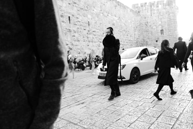 Jeruzalem - Straatleven  - Straatleven van Jeruzalem (genomen nabij de toren van David).