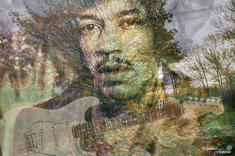 One of my heroes Jimi Hendrix