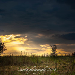 zonsondergang valkenburg-berg HDR