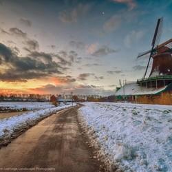 Winter op de Zaanse Schans