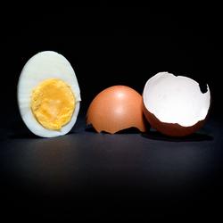 Beter een half ei dan een lege dop