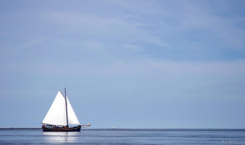 Rust en ruimte - Blik op de Waddenzee vanaf Ameland