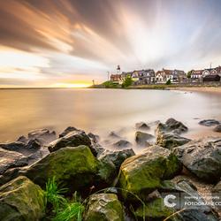 Zomaar een avond aan het IJsselmeer