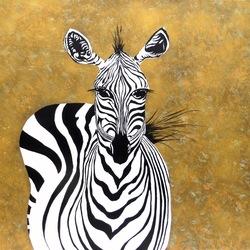 20161214 Zebra (schilderij)