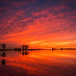 zonsopkomst Kagerplassen