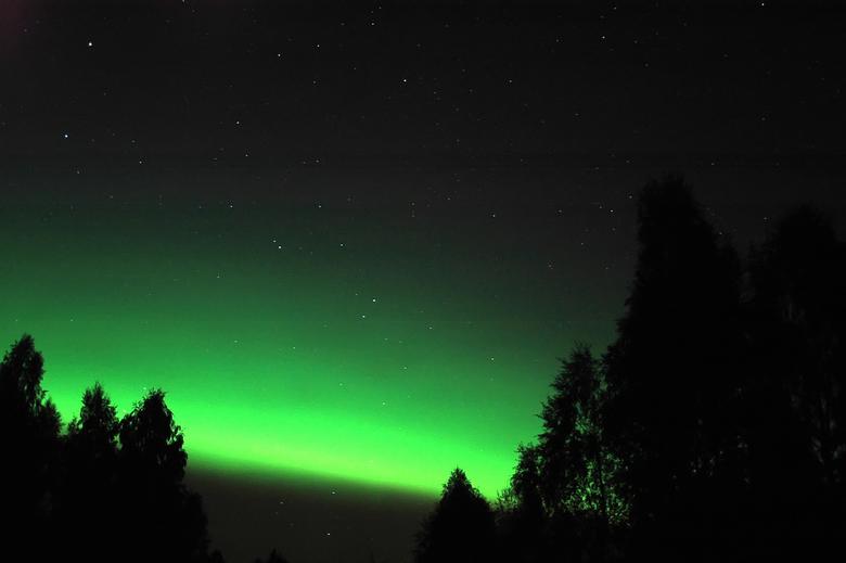 Noorderlicht - Ook in Zweden is soms noorderlicht te zien