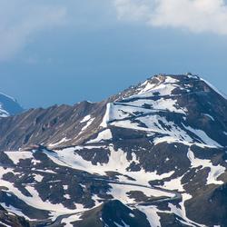 Zigzag de berg op