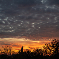 zonsondergang in zevenhuizen II