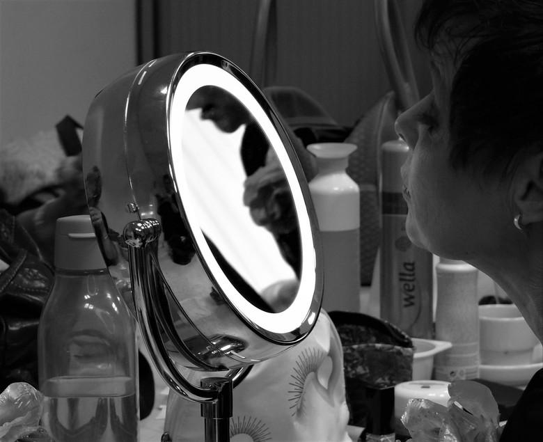 spiegeltje, spiegeltje - voorbereiden op de show
