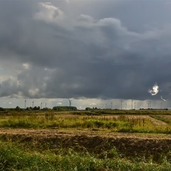 Dreiging in de polder