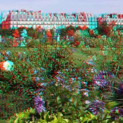 Jardin des Tuileries Paris 3D