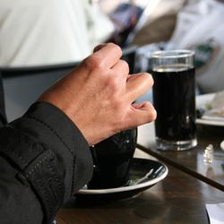 'n Kopje koffie