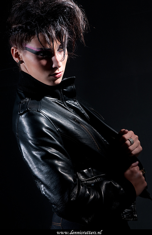 Elodie - Model: Elodie<br /> Mua: Elodie<br /> Hairstyling: Silvano<br /> Fotografie: Dennis www.dennisrutters.nl