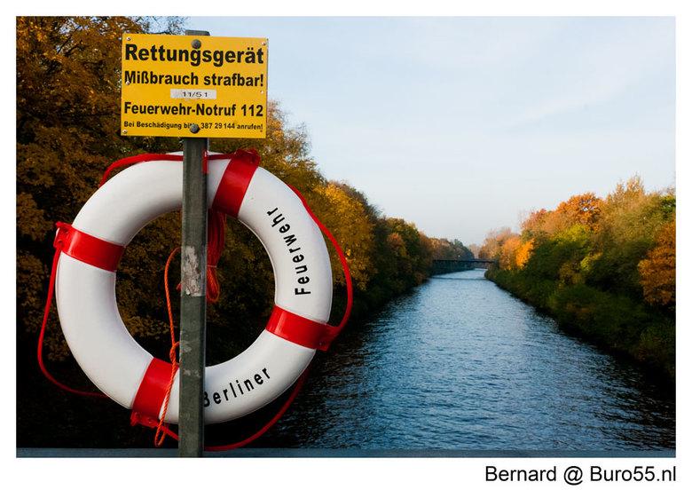 Berlin - Spree - Gemaakt tijdens mijn laatste Berlin trip okt 2010