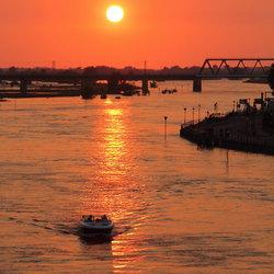 sunset @ deventer