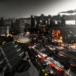 Urban Skyline Rotterdam