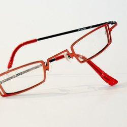 aangevallen bril......