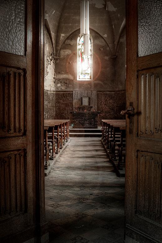 Welcome to Agnus Dei - Klein verlaten kapelletje in België