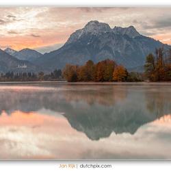 Neuschwanstein at dawn
