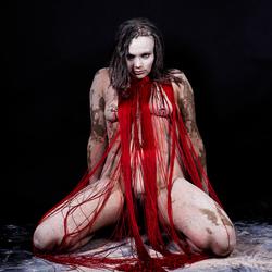 Voodoo priestess Red