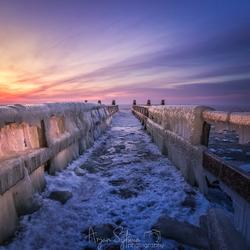 Een brug van ijs
