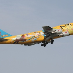 Pokemon Boeing 747