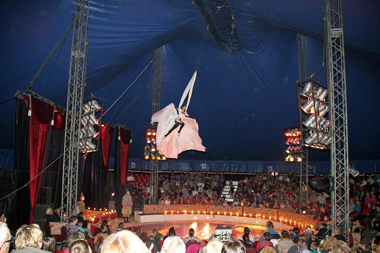 Circus Oudendijk - Foto genomen tijdens Circus Oudendijk in Oostende (Belgie)