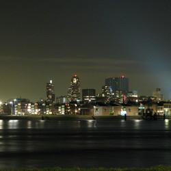 Avondfotografie uit proberen. Rotterdam.