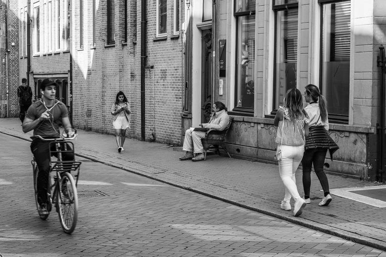 Groningen de binnenstad  - Een rustige dag in de stad