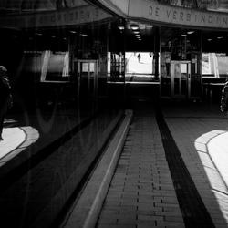 De voetganger en de verbinding.....