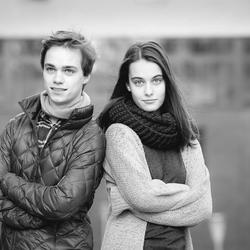 Broer en zus!