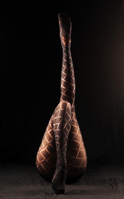 Beautiful legs in tights