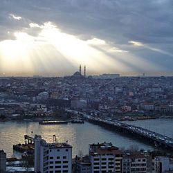 Uitzicht Istanbul