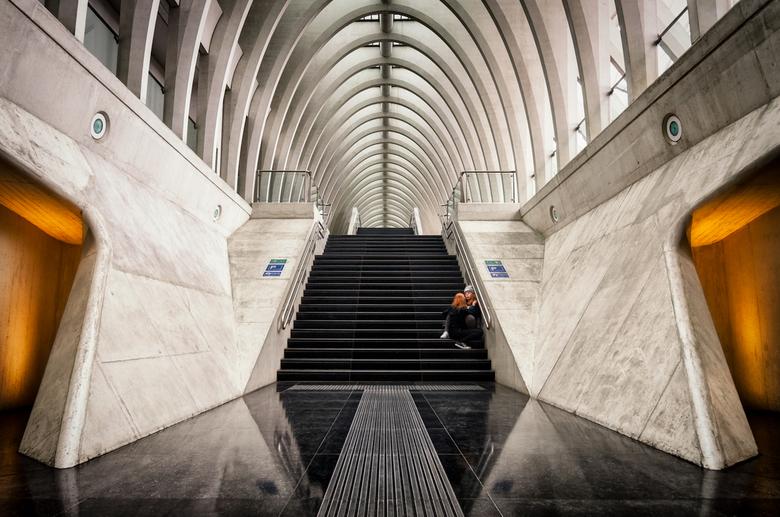 Tunnel of Love - Een intiem onderonsje in Calatrava's schepping