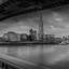 Londen in B+W