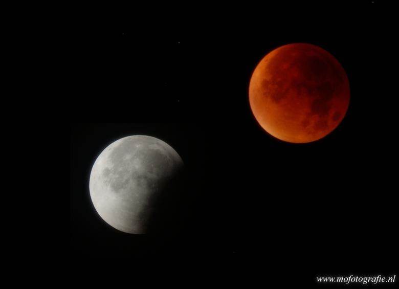 Bloed maan/Maansverduistering