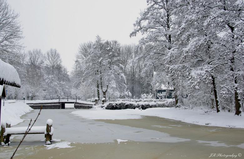 Winterlandschap - Winter in de polder
