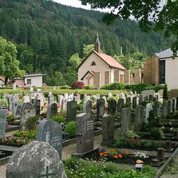 Begraafplaats.