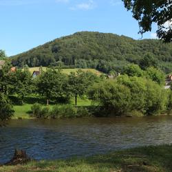 De Jizera in Mala Skala Tsjechië