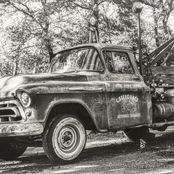 Chevy 3200 takelwagen in de Wanroyse Bergen ZW