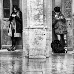 Brussel in the rain