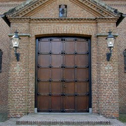 Ingang Kerkgebouw