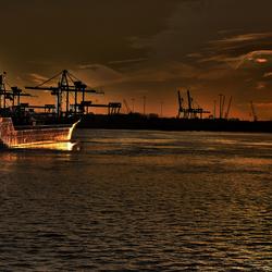 Waalhaven sunset 03
