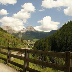vakantie 2008 in de Dolomieten