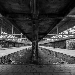 Urbex train station
